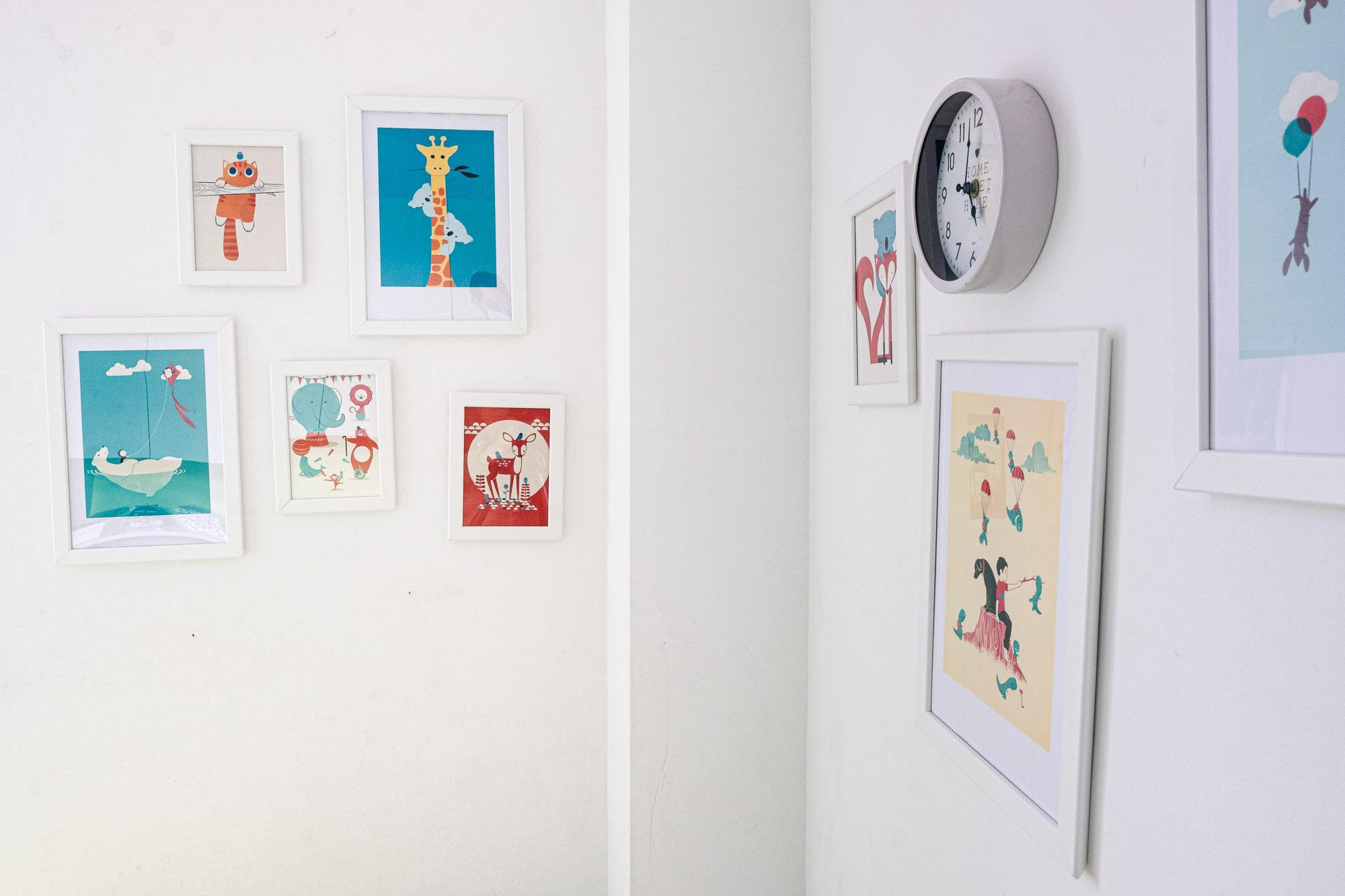 Wand Kinderzimmer