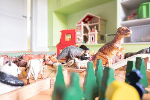 Spielfiguren Kinderzimmer
