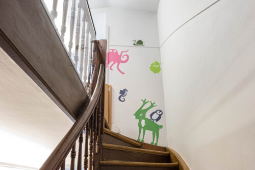 Treppenaufgang obere Stockwerke