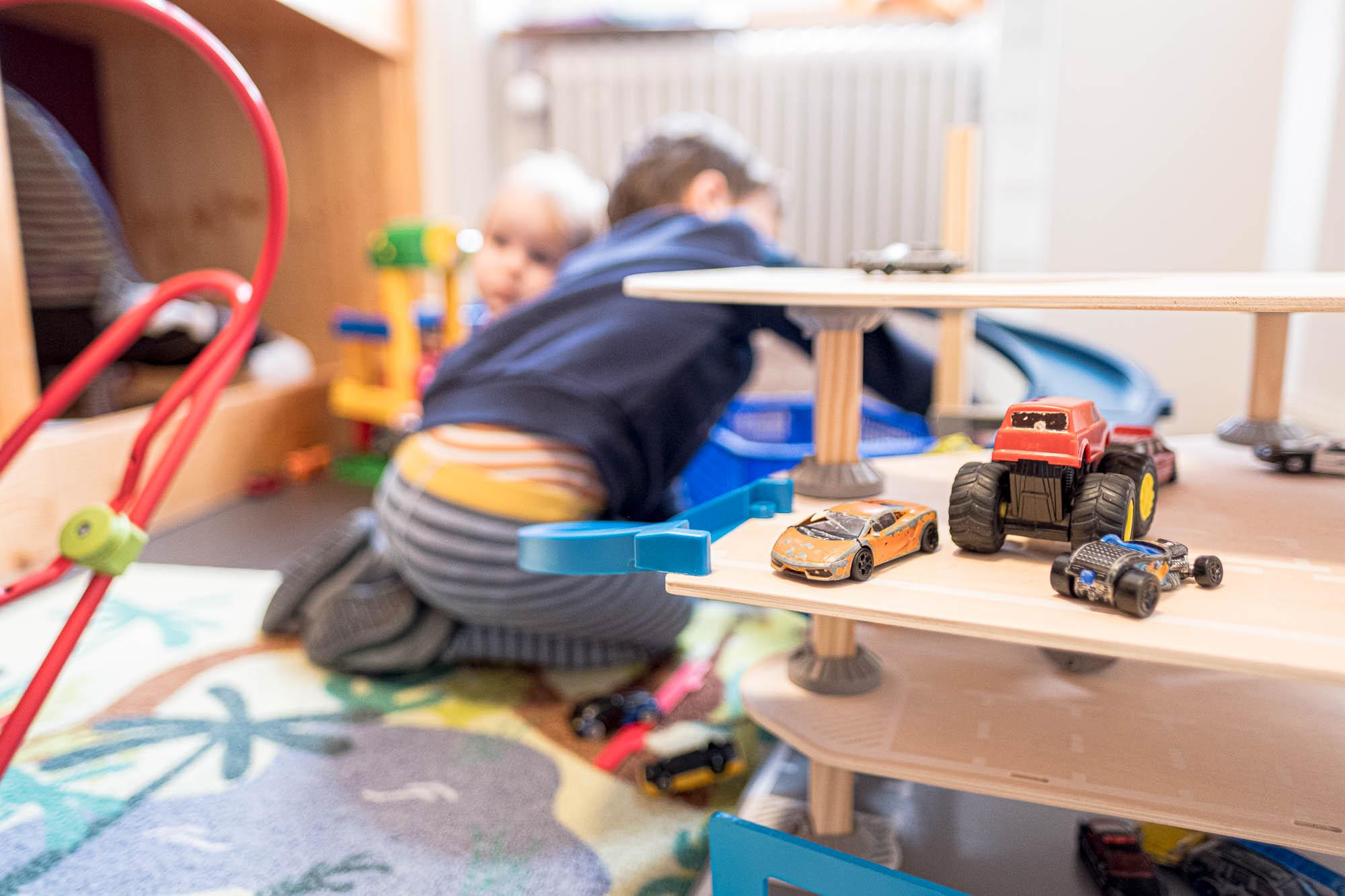 Rhy-Spatze-Schlaf- und Spielzimmer