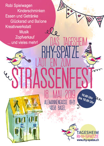 Flyer Strassenfest 2019