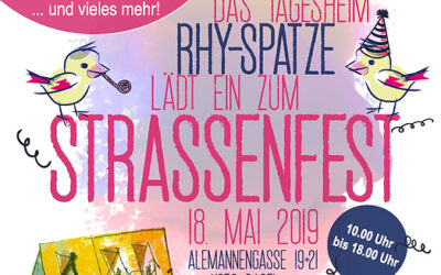 Strassenfest im Mai 2019