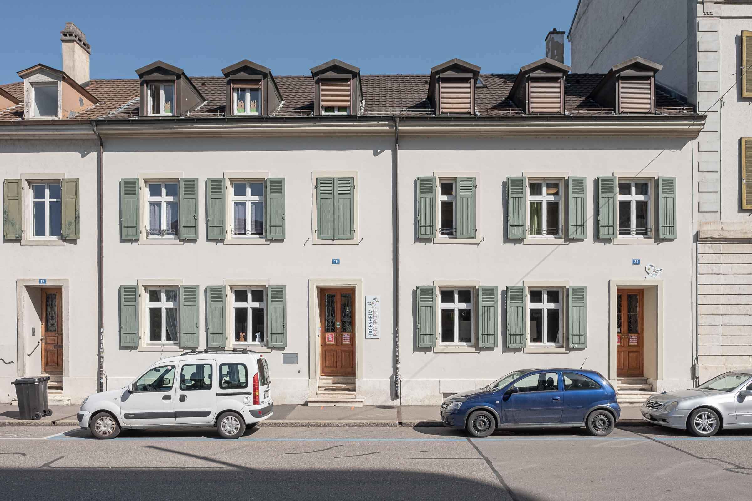 Tagesheim Rhy-Spatze-Front